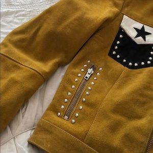 Muubaa Jackets & Coats - Muubaa Mustard Festival Jacket